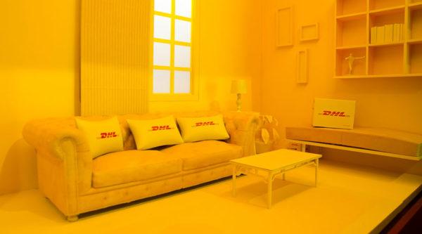 Diorama DHL Cenário Sala Residencial