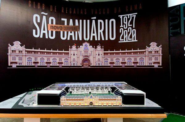 Novo estádio de São Januário